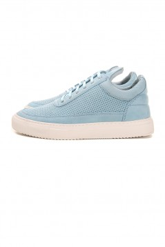 FILLING PIECES Low Top Tone Perforated Baby Blue
